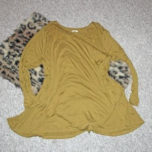 Olive Green Tunic Plus Size 3X